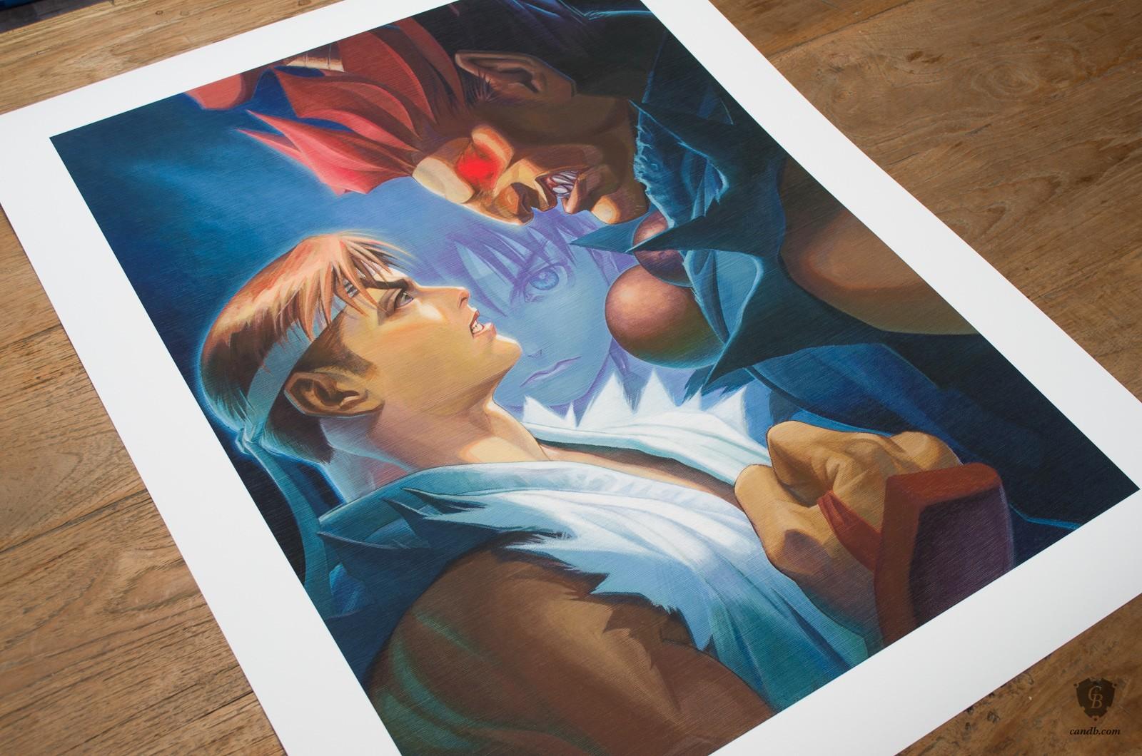 Ryu vs Akuma Limited Ryu-vs-akuma_streetfighter_capcom_print1_1600_1600x1060_marked