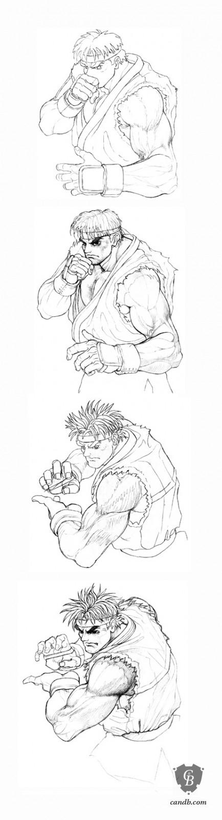 Artwork Hadouken Capcom