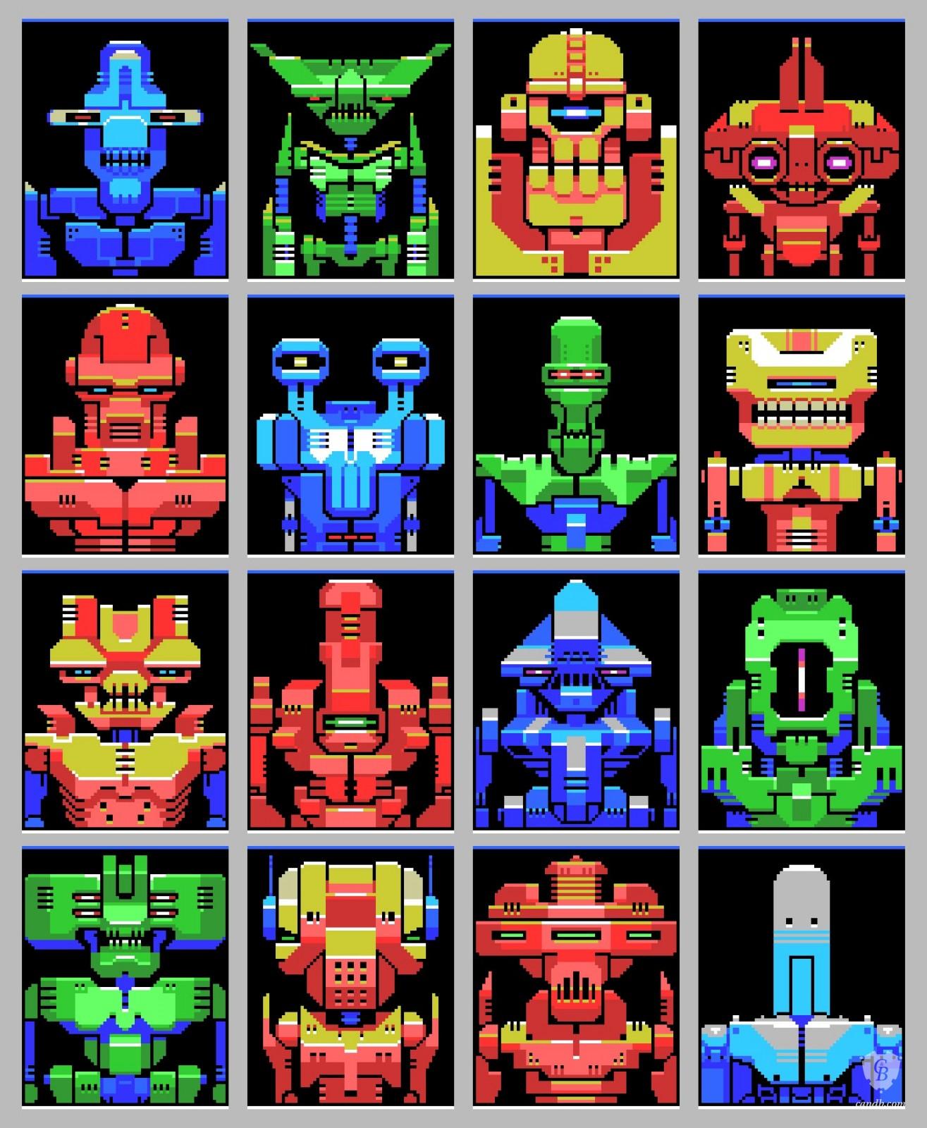 Artwork Msx Robots Sven Ruthner