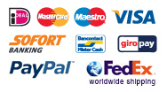 payment options, worldwide shipping
