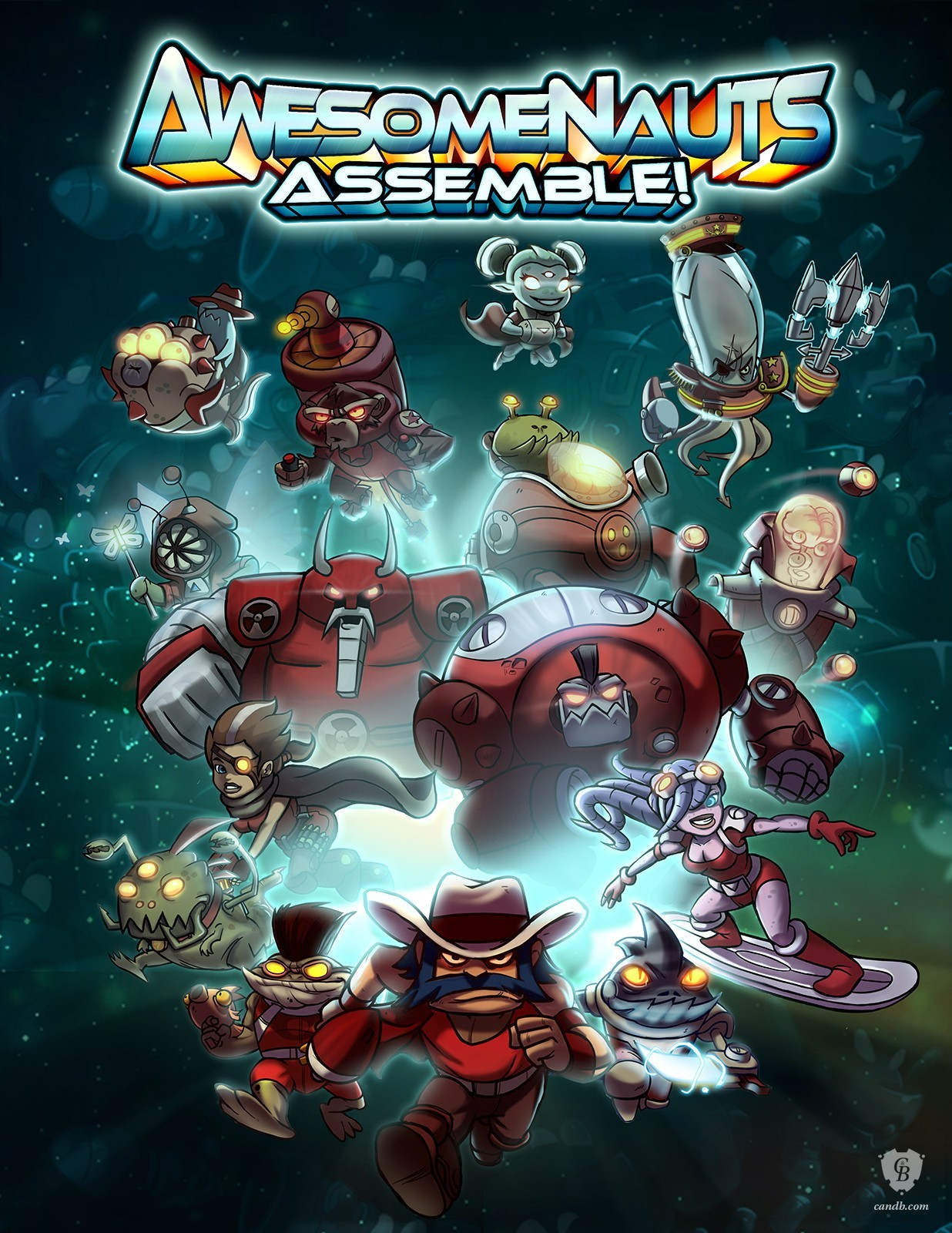 Awesomenauts: Digital G 2013 pc game Img-1