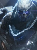 Garrus (Archangel) - The artwork Garrus (Archangel) is digitally created concept art for the Mass Effect video game series. Garrus is one of the main characters in the games. The image is made by artist Benjamin Huen.