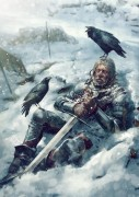 Biting Frost - Witcher 3 - Biting Frost is one of the weather effects that can be used to neutralize attackers in the card game Gwent, a very popular pastime in Geralt of Rivia\'s world. Biting Frost is an official artwork for the world of The Witcher and the Witcher card game GWENT, video games created by CD PROJEKT RED. The artist that made this image is Bartłomiej Gaweł. This limited edition Certified Art Giclee™ print is part of the official The Witcher fine art collection by Cook & Becker and CD PROJEKT RED. The print is hand-numbered and comes with a Certificate of Authenticity signed by the artist.