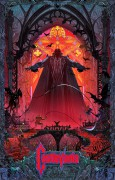 Castlevania - This Castlevania art print is drawn by artist Kilian Eng under official license from Konami, and is inspired by the classic video game series Castlevania from Konami Digital Entertainment. This limited edition Certified Art Giclee print is hand-numbered and comes with a Certificate of Authenticity. It has a paper size of 24 x 36\