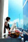 Shadow of the Shard - The artwork Shadow of the Shard is digitally created concept art for the game Mirror's Edge by studio DICE. This original digital fine art print is hand-numbered and signed by Mirror's Edge Art Director Johannes Söderqvist.