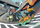 Jet Set Radio (2018) - Jet Set Radio (2018) is an official limited edition print drawn by artist DirtyRobot based on the classic, graffiti art focused SEGA video game Jet Set Radio. DirtyRobot made this print under direction of Cook and Becker and SEGA using the original games\' designs, logo\'s etc. from the SEGA archives as inspiration.