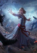 Keira Metz - Witcher 3 - Keira Metz is an official artwork for the world of The Witcher and the Witcher card game GWENT, video games created by CD PROJEKT RED. The artist that made this image is Bogna Gawronska. This limited edition Certified Art Giclee print is part of the official The Witcher fine art collection by Cook & Becker and CD PROJEKT RED. The print is hand-numbered and comes with a Certificate of Authenticity signed by the artist.