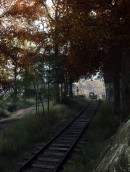 Tracks - Tracks is an in-game image from the game The Vanishing of Ethan Carter by Polish indie studio The Astronauts. The super high-res shot that was used for this limited edition giclee print is by The Vanishing of Ethan Carter developer The Astronauts and Duncan Harris. Harris has specialized himself in the art of capturing special imagery from games with his site Dead End Thrills.