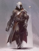 The Warlock - Destiny - The Warlock is an official concept art for Destiny, the video game created by Bungie, Inc. This Certified Art Giclee™ print is part of the official Destiny fine art collection by Cook & Becker and Bungie. The image has been made by artist Ryan DeMita.