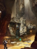 Valley of Kings - Destiny - Valley of Kings is an official concept art for Destiny, the video game created by Bungie, Inc. This Certified Art Giclee™ print is part of the official Destiny fine art collection by Cook & Becker and Bungie. The image has been made by artist Jesse van Dijk. \n