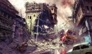 Warzone Street Scene - Uncharted 2 - Warzone Street Scene is concept art for the game Uncharted 2: Among Thieves and has been made by concept artist Shaddy Safadi. This limited edition print is part of the official Uncharted fine art print collection that cover Uncharted 1 - 3.