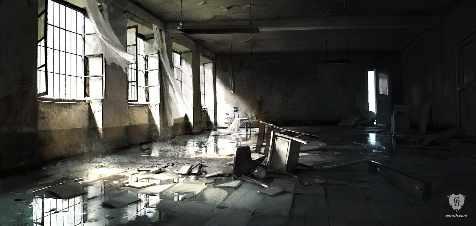 artwork abandoned dice