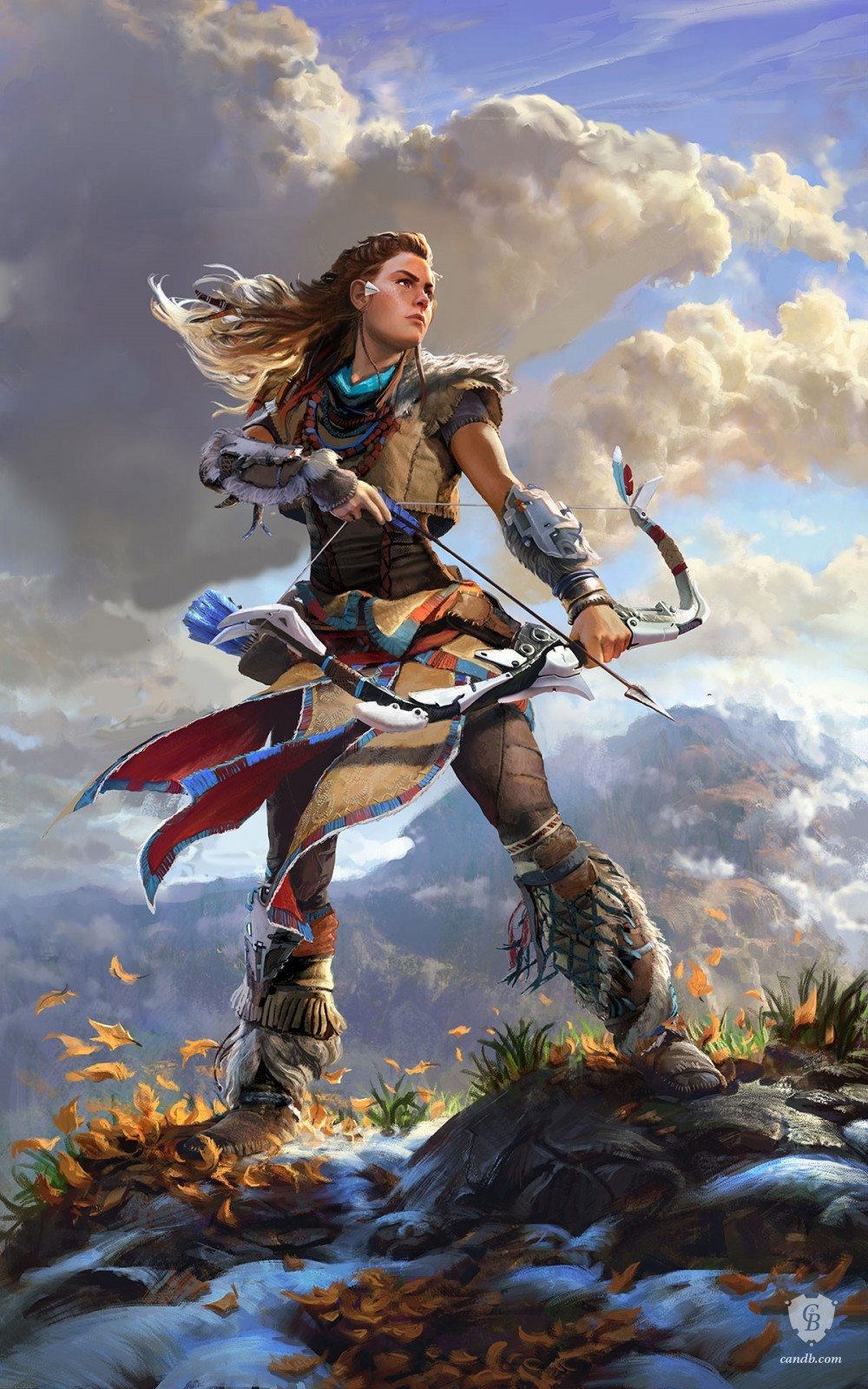 Horizon: Zero Dawn, aloy
