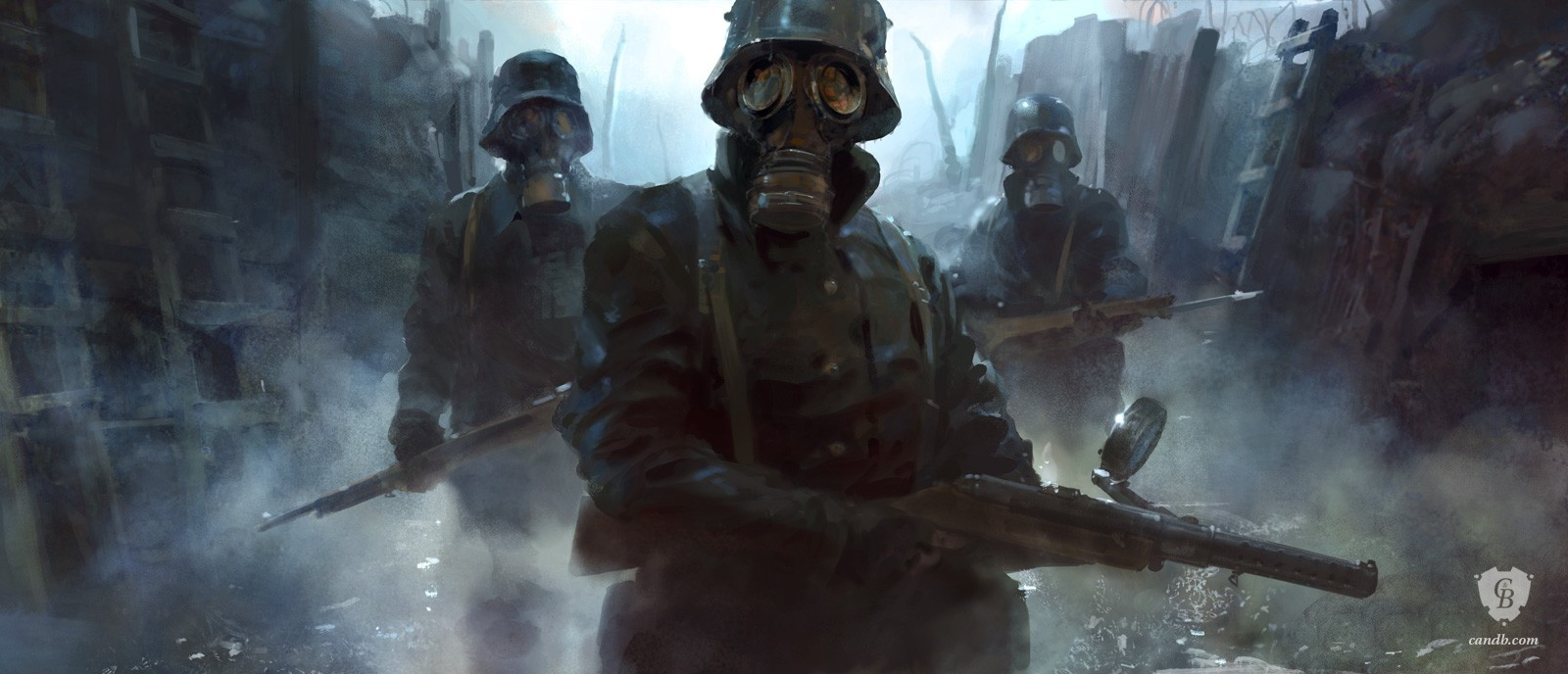 artwork trench soldiers battlefield 1 dice