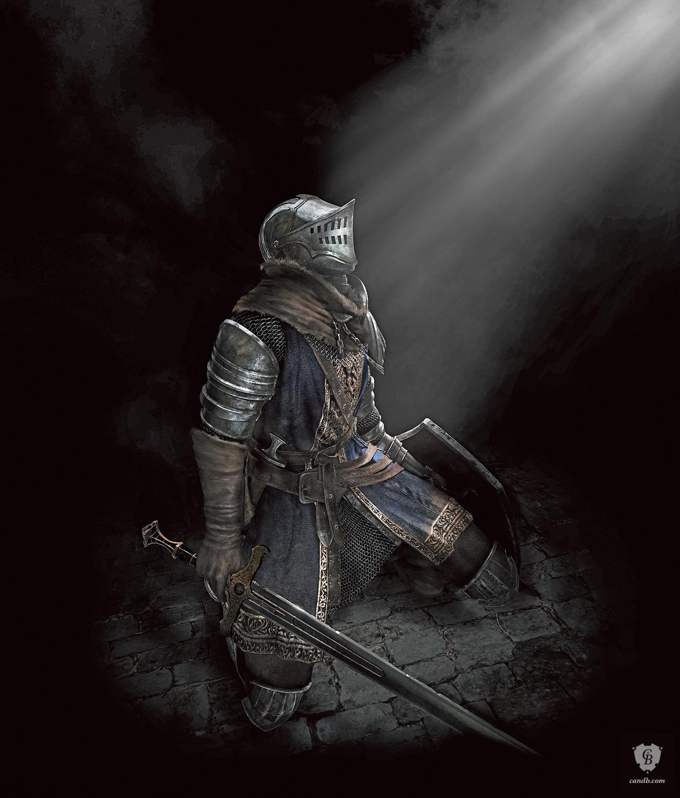 artwork elite knight dark souls fromsoftware