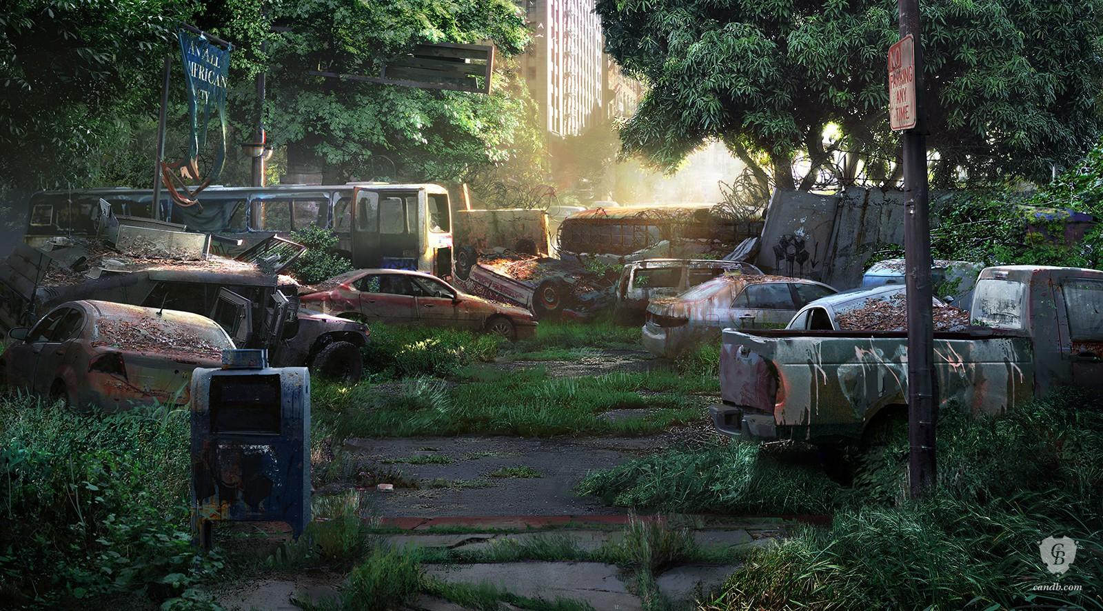 Artwork Hunter City Naughty Dog
