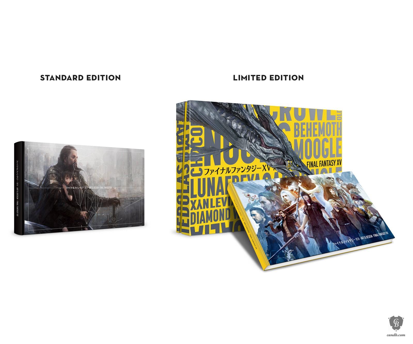 Artwork The Art and Design of FINAL FANTASY XV Square Enix