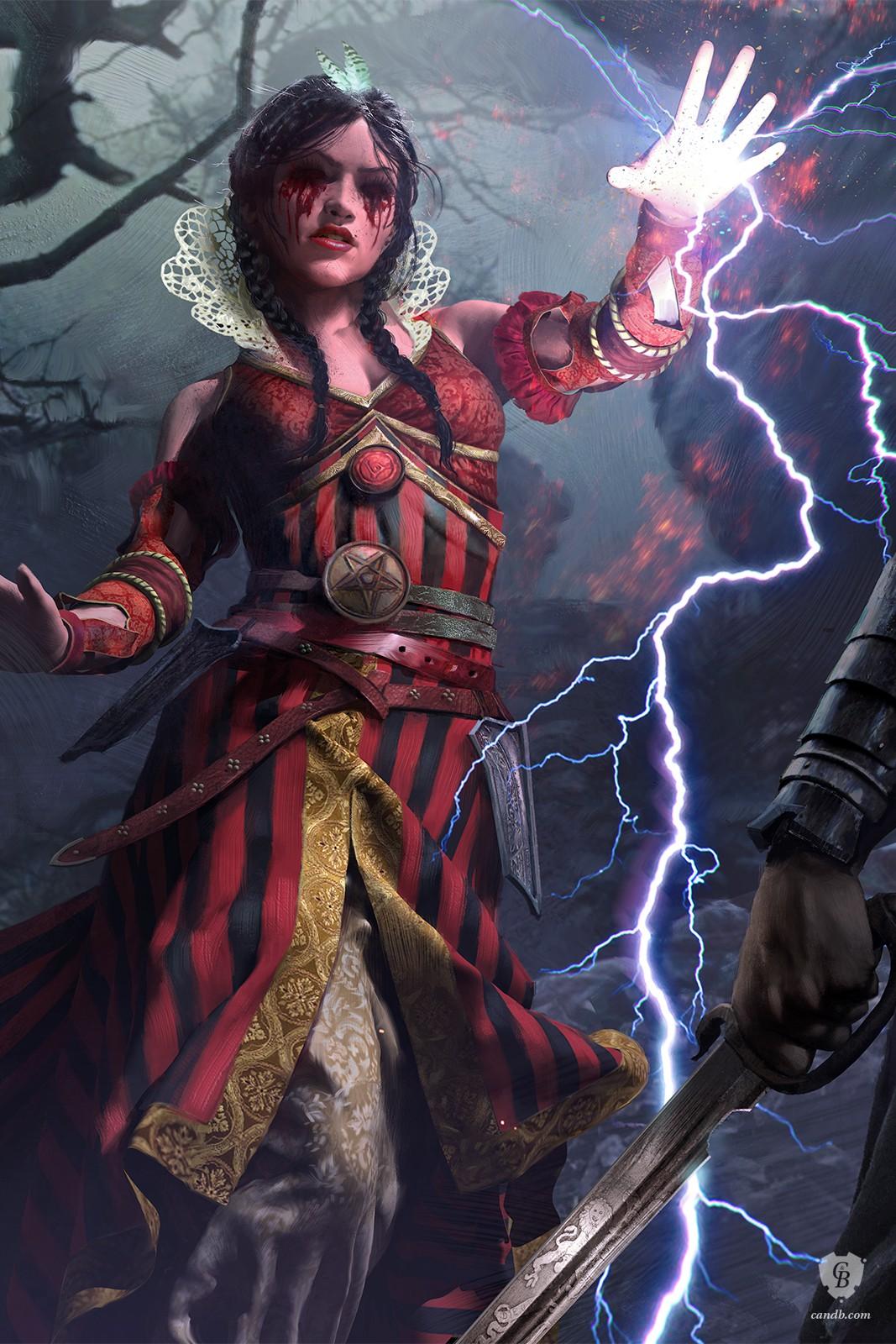Artwork philippa witcher 3 cd projekt red - Ciri gwent card witcher 3 ...