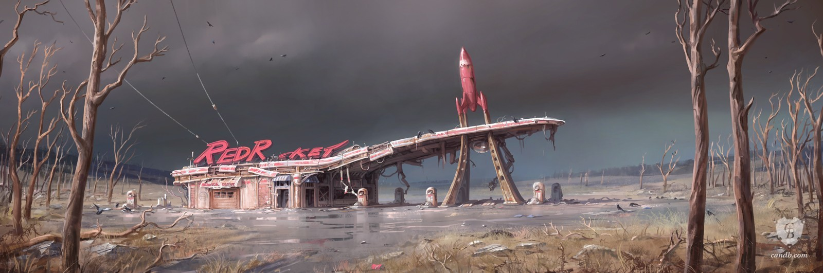 Artwork Red Rocket Fallout 4 Bethesda Softworks