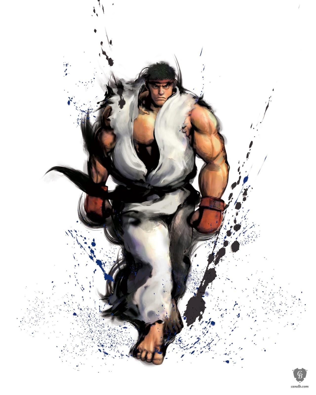 Artwork Ryu Street Fighter Iv Capcom