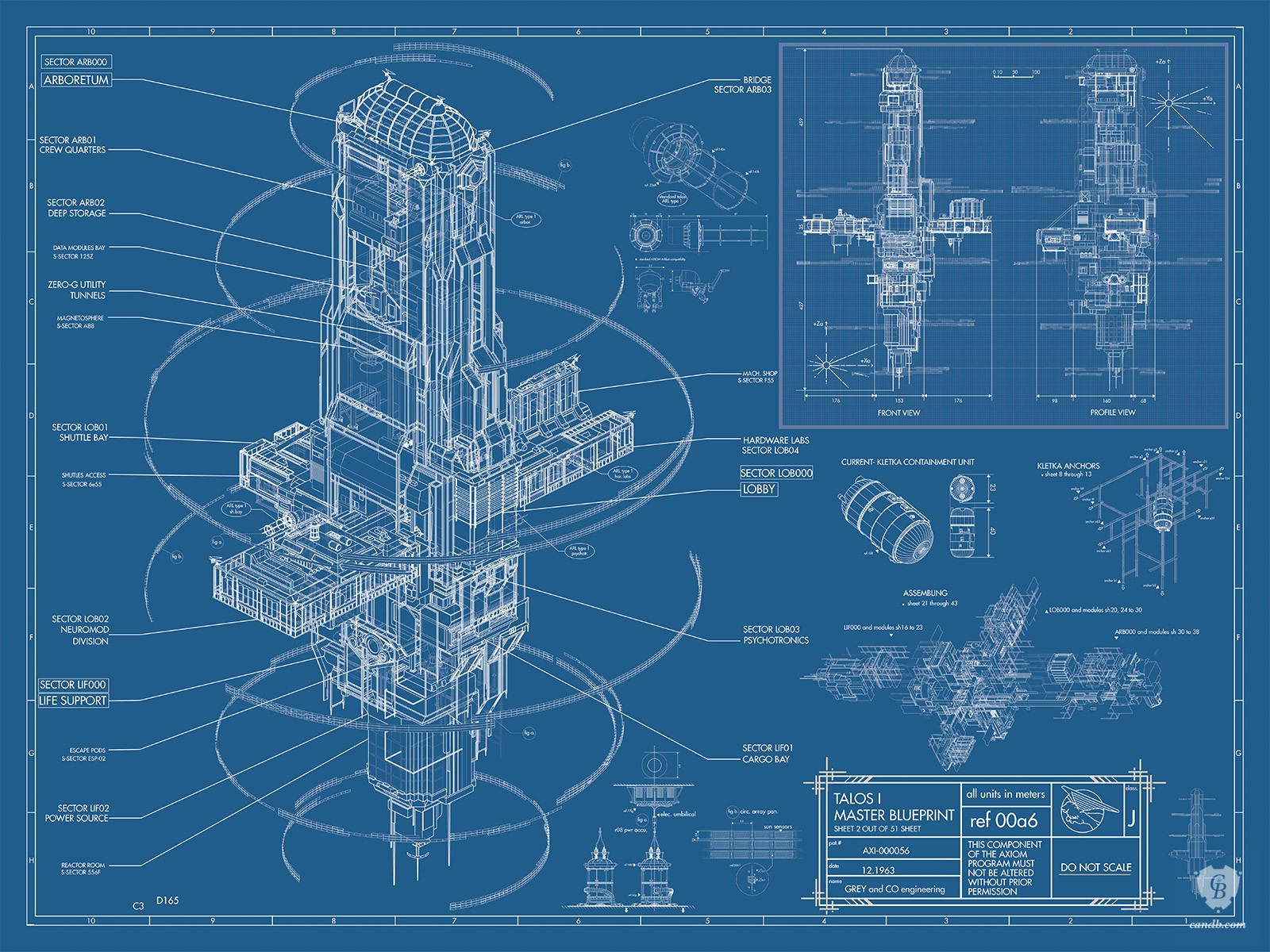 Artwork talos i master blueprint prey arkane studios for Where to print blueprints