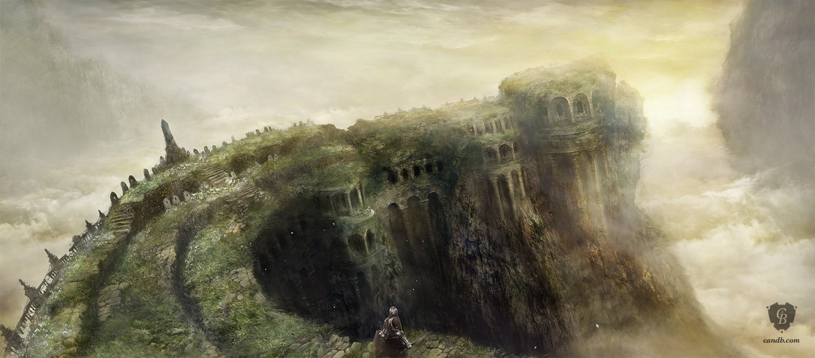 The Ringed City Wallpaper: Dark Souls III FromSoftware
