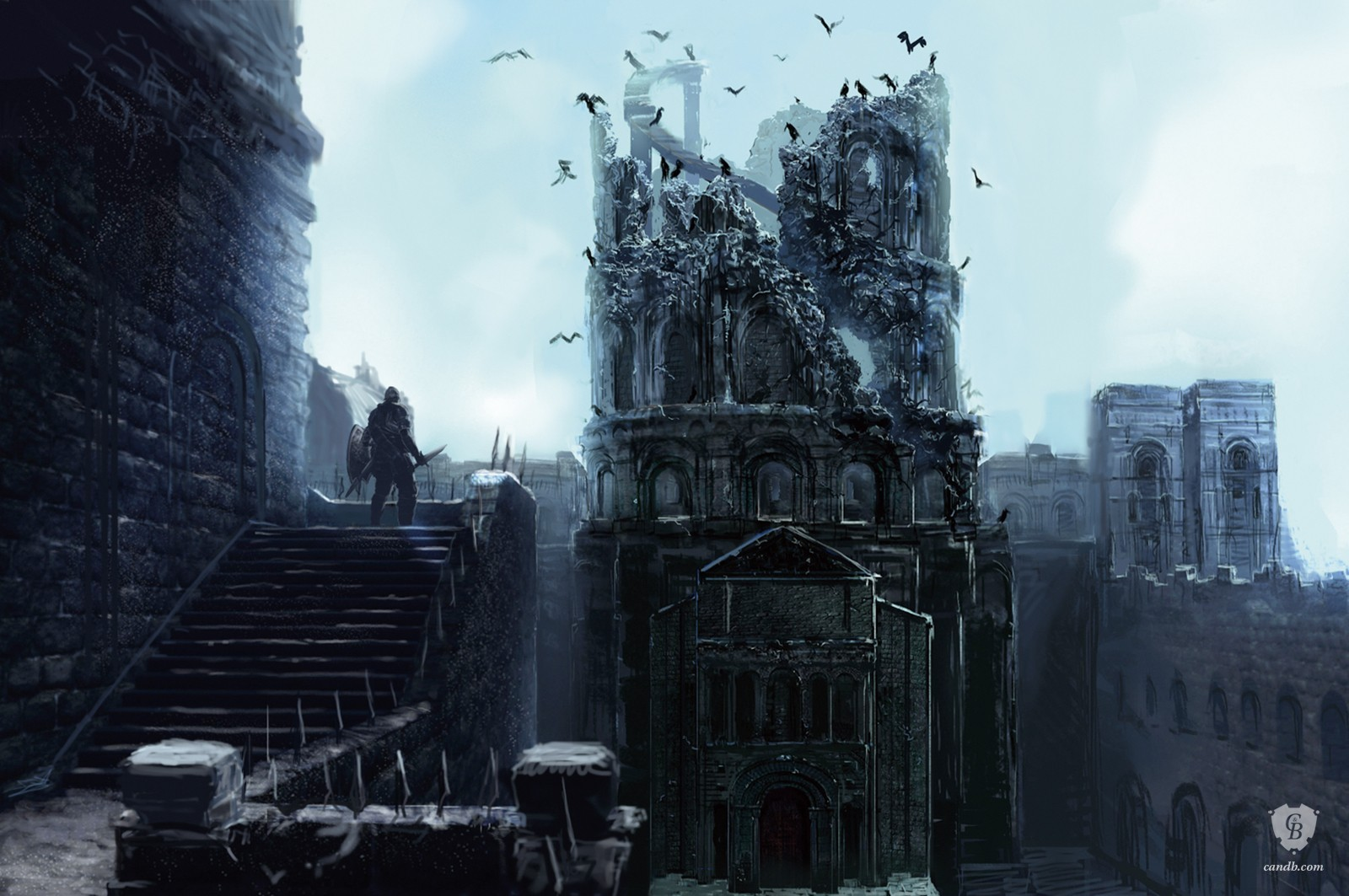 Blighttown Tower Of Crows