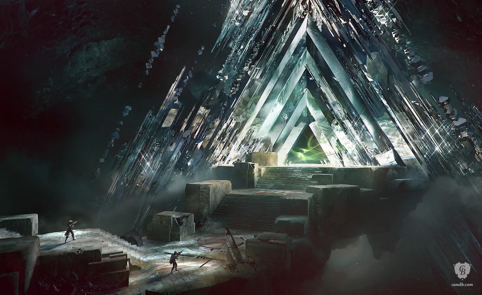 Artwork Vault of Glass - Destiny Bungie - candb.com
