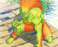 Blanka - Street Fighter II