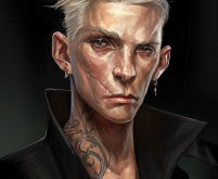 Female Thug Portrait 2 - Dishonored 2