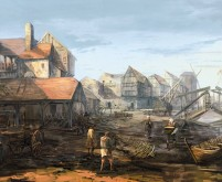 Novigrad Port - Witcher 3