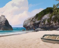 On the Beach - Uncharted 4