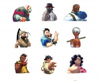 Street Fighter III:3rd Strike Portraits