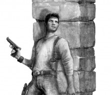 Drake in Cover - Uncharted 1