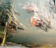 Flying past Kite City - Guild Wars 2