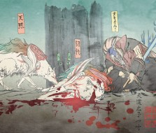 Shiranui's sacrifice for Oki - Okami