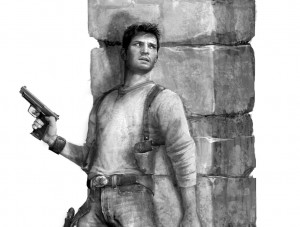 Drake in Cover - Uncharted 1, Naughty Dog ©