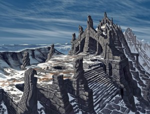 Nordic Temple - Skyrim, Bethesda Softworks ©