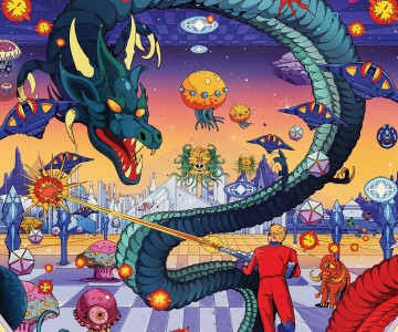Space Harrier preview