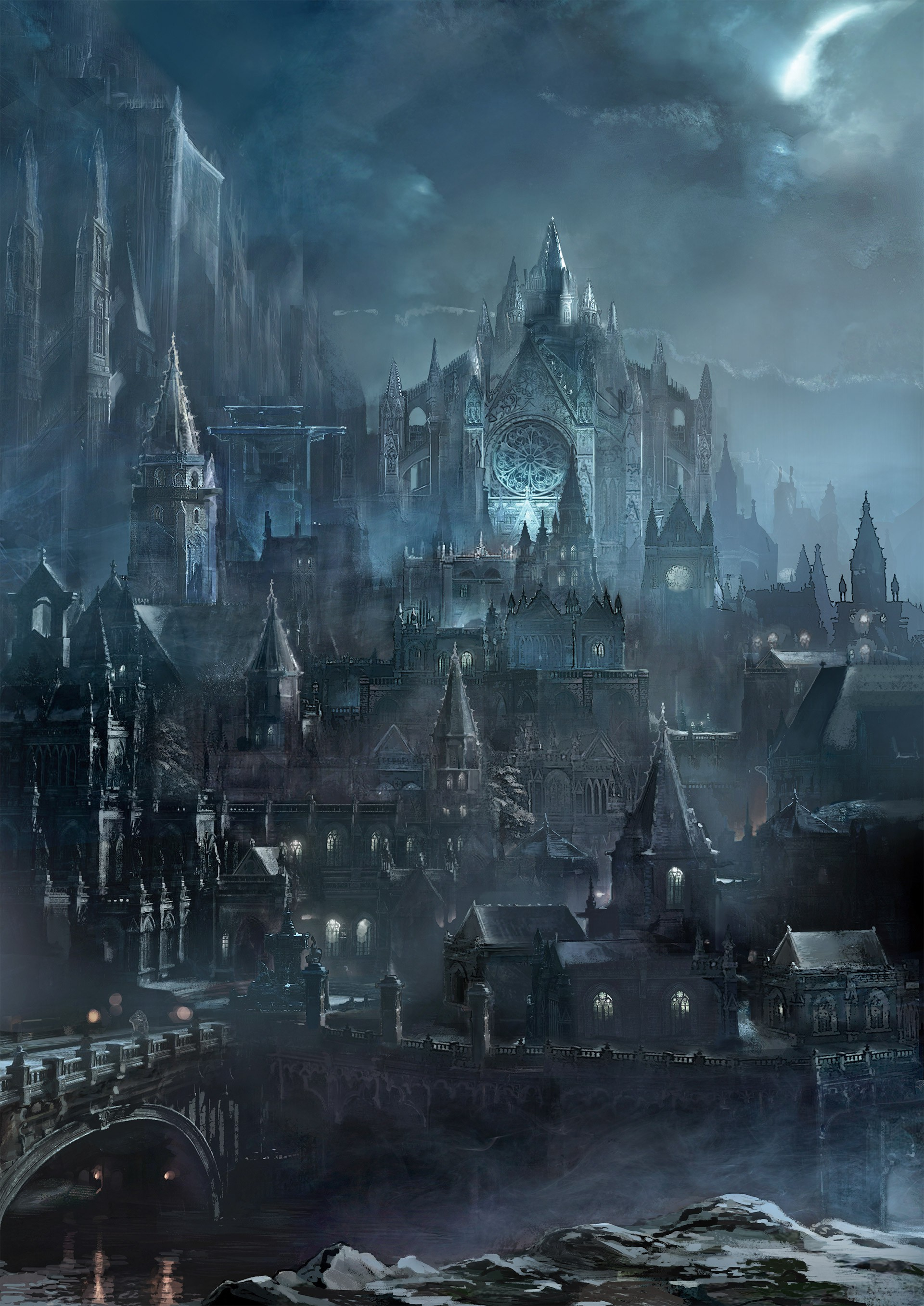 Artwork Irithyll Of The Boreal Valley Dark Souls Iii