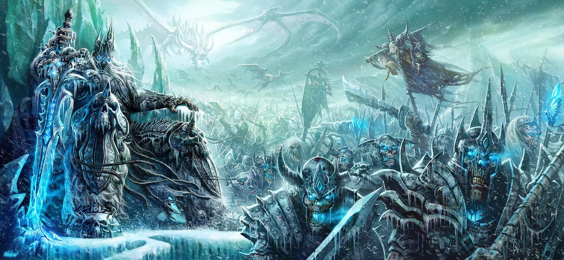 Kunstwerk The Lich King   World of Warcraft   Blizzard Entertainment   Cook  and Becker