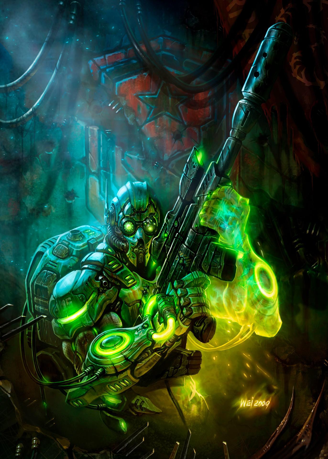 Artwork Ghost Starcraft Blizzard Entertainment Cook And Becker