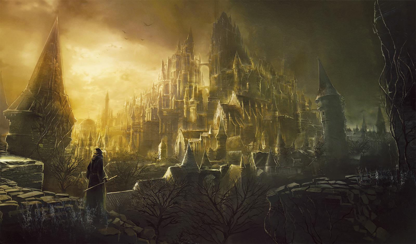 Artwork High Wall of Lothric | Dark Souls III